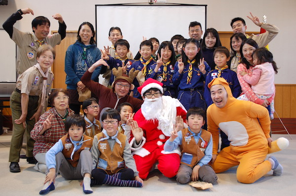 感謝祭・ユニセフ募金