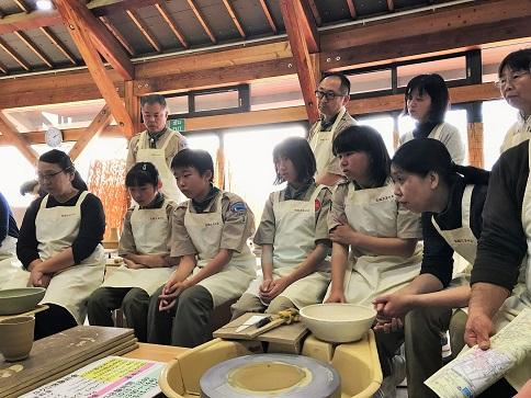 笠間焼体験~ろくろによる陶芸品制作