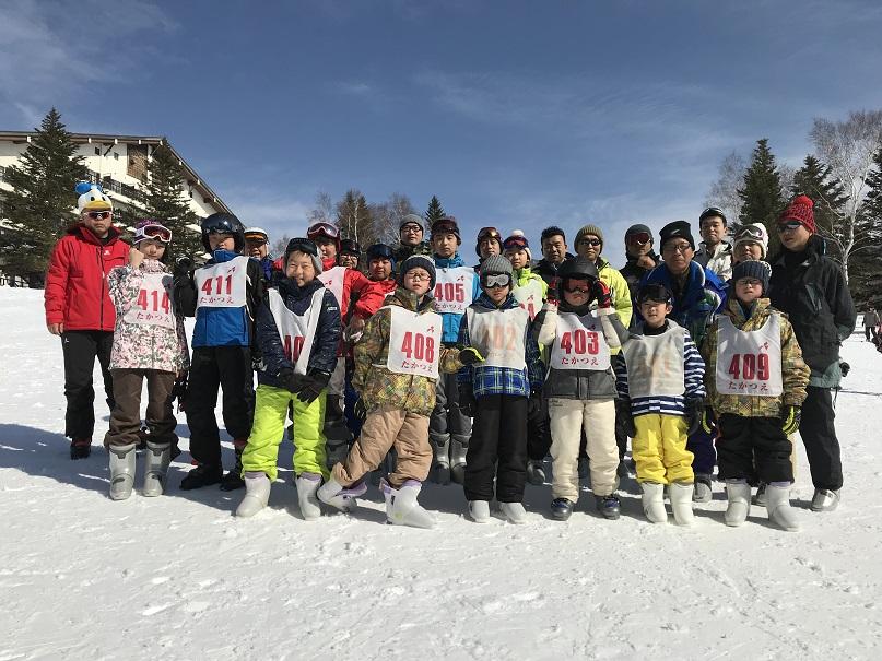 2018 WINTER CAMP in TAKATSUE Ski Resort【1日目】