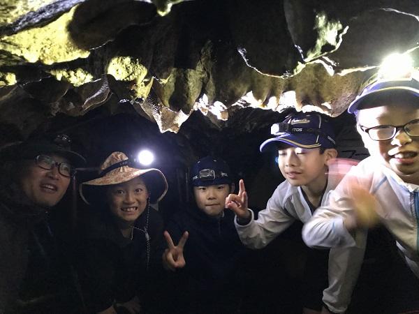 【B面ブログ】入水鍾乳洞を探検してみる