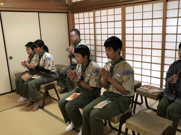 12/8 ボーイ隊説法