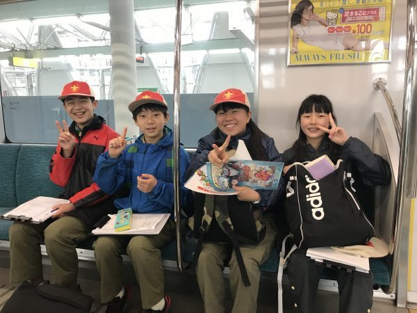 2019 night hike おら東京さ行くだ!~ボーイ隊編~