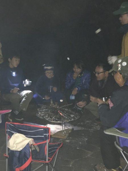 秋季野営訓練・リーダースキルアップキャンプ