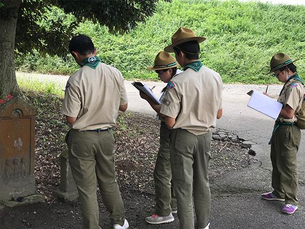 【B面ブログ】ボーイ隊 10kmハイクで読図を実践する